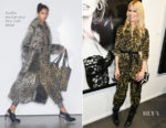 Claudia Schiffer In Stella McCartney - Ellen von Unwerth's Ladyland Exhibition