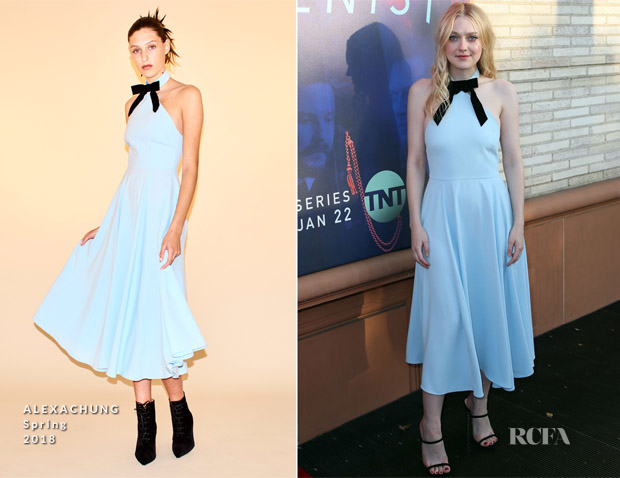 Dakota Fanning In ALEXACHUNG - 'The Alienist' FYC Event