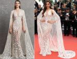 Deepika Padukone In Zuhair Murad Bridal - 'Sorry Angel (Plaire, Aimer Et Courir Vite)' Cannes Film Festival Premiere