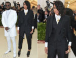 Diddy In Musika Frere & Cassie In Thom Browne - 2018 Met Gala