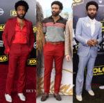 Donald Glover In Salvatore Ferragamo & Gucci - Solo: A Star Wars Story Promo Tour