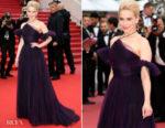 Emilia Clarke In Christian Dior Haute Couture - 'Solo: A Star Wars Story' Cannes Film Festival Premiere