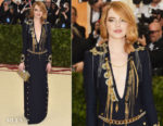 Emma Stone In Louis Vuitton - 2018 Met Gala