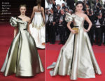 Fan Bingbing In Alexis Mabille Haute Couture - 'Ash Is The Purest White (Jiang Hu Er Nv) Cannes Film Festival Premiere
