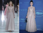 Fan Bingbing In Ralph & Russo Couture - Cannes Film Festival Gala Dinner