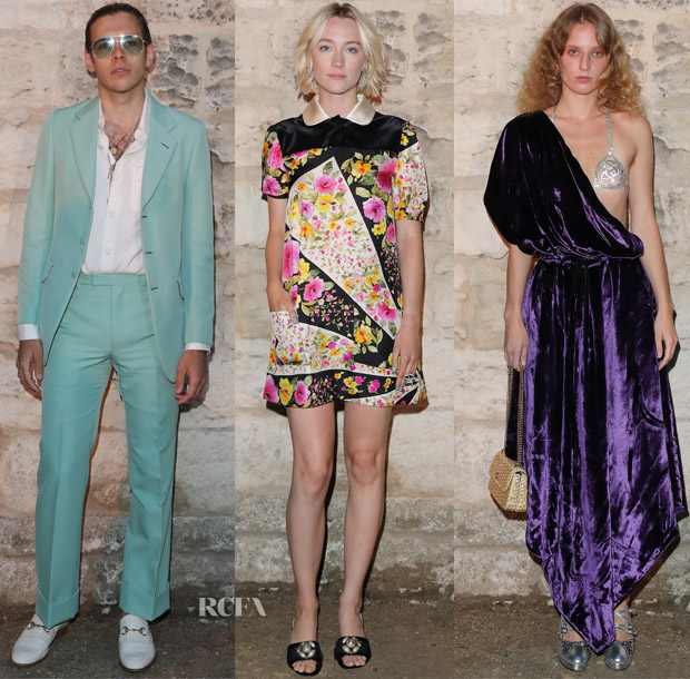 Front Row @ Gucci Resort 2019 - Red Carpet Fashion Awards