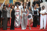 Balmain Dresses Stars Of 'My Profession Is Not Black' @ Cannes Film Festival