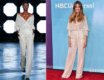 Heidi Klum In Sally LaPointe - NBCUniversal's Summer Press Day: American's Got Talent