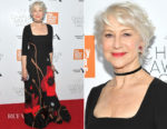 Helen Mirren In Valentino - 45th Chaplin Award Gala