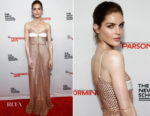 Hilary Rhoda In Markarian - 70th Parsons Benefit