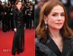 Isabelle Huppert In Saint Laurent - 'Sink Or Swim (Le Grand Bain)' Cannes Film Festival