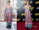 Jaime King In Schiaparelli Haute Couture - 'SOLO: A Star Wars Story' LA Premiere