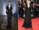 Jane Fonda In Givenchy Haute Couture - 'Sink Or Swim (Le Grand Bain)' Cannes Film Festival Premiere
