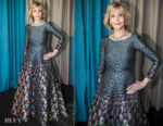 Jane Fonda In Mary Katrantzou - L'Oreal Cannes Event