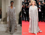 Jane Fonda In Valentino Haute Couture - 'Blackkklansman' Cannes Film Festival Premiere