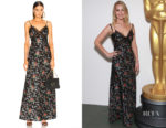 Jennifer Lawrence's Brock Collection Donnie Floral Dress