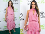 Jordana Brewster In Prabal Gurung - 28th Annual Environmental Media Awards