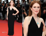 Julianne Moore In Saint Laurent - Yomeddine' Cannes Film Festival Premiere