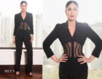Kareena Kapoor In Vintage Mugler - Veere Di Wedding Promo Tour