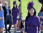 Countess Karen Spencer In Pamella Roland- Prince Harry & Meghan Markle's Royal Wedding