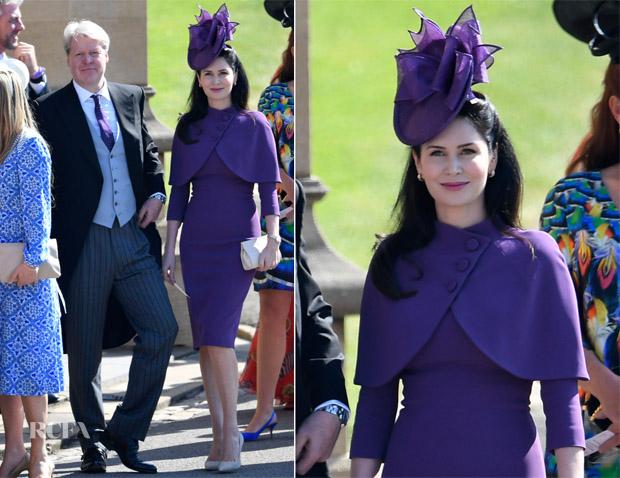 Countess Karen Spencer In Pamella Roland Prince Harry