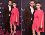 Kate Mara & Jamie Bell In Valentino - 'Pose' New York Premiere