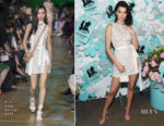 Kendall Jenner In Elie Saab - Tiffany & Co. Paper Flowers Event And Believe In Dreams Campaign Launch