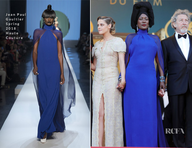 Khadja Nin In Jean Paul Gaultier Haute Couture - 'The Man Who Killed Don Quixote' Cannes Film Festival Premiere & Closing Ceremony