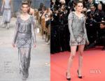Kristen Stewart In Chanel Haute Couture - 'Blackkklansman' Cannes Film Festival Premiere