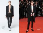 Kristen Stewart In Chanel - 'Knife + Heart (Un Couteau Dans Le Couer)' Cannes Film Festival Premiere