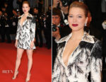 Lea Seydoux In Louis Vuitton - 'Cold War (Zimna Wojna)' Cannes Film Festival Premiere
