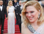 Lea Seydoux In Louis Vuitton - 'Everybody Knows' Cannes Film Festival Screening