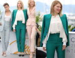 Lea Seydoux In Louis Vuitton - 2018 Cannes Film Festival Jury Photocall