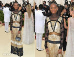 Letitia Wright In Coach - 2018 Met Gala
