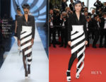 Li Yuchun In Jean Paul Gaultier Couture -  Yomeddine' Cannes Film Festival Premiere