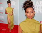 Logan Browning In Marc Jacobs - 'Dear White People' LA Screening
