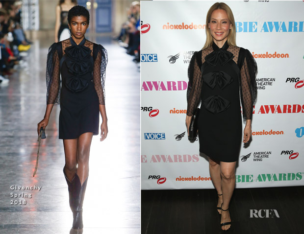 Lucy Liu In Givenchy - 63rd Annual Obie Awards