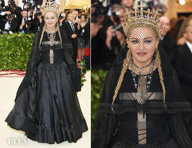 Resultado de imagem para met gala 2018 madonna