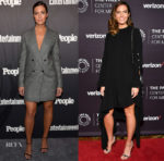Mandy Moore In Max Mara & Monse - Entertainment Weekly & People New York Upfronts & 2018 The Paley Honors