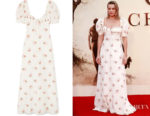 Margot Robbie's Brock Collection Doda Floral-Print Gown