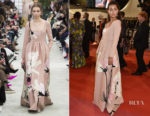 Maria Thelma Smaradottir In Valentino - 'The Spy Gone North (Gongjak)' Cannes Film Festival Premiere