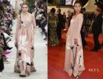 Maria Thelma Smaradottir In Valentino - 'The Spy Gone North (Gongjak)' Cannes Film Festival Premiere