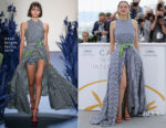 Marion Cotillard In Adam Selman - 'Angel Face (Gueule D'Ange)' Cannes Film Festival Photocall