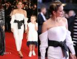 Marion Cotillard In Armani Prive - 'Angel Face (Gueule d'Ange)' Cannes Film Festival Premiere