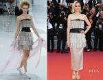Marion Cotillard In Chanel Haute Couture - 'Sink Or Swim (Le Grand Bain)' Cannes Film Festival Premiere