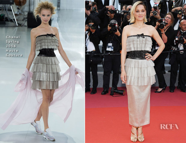 Marion cotillard in chanel haute couture 39 sink or swim for Chanel haute couture price range