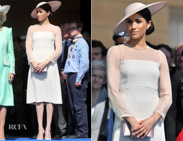 Meghan Duchess Of Sussex In Goat The Prince Wales 70th Birthday Patronage