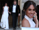 Meghan, Duchess of Sussex In Stella McCartney - Royal Wedding Reception