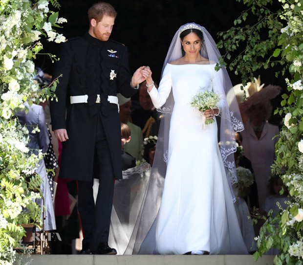 Meghan Markle Weds Prince Harry In Givenchy