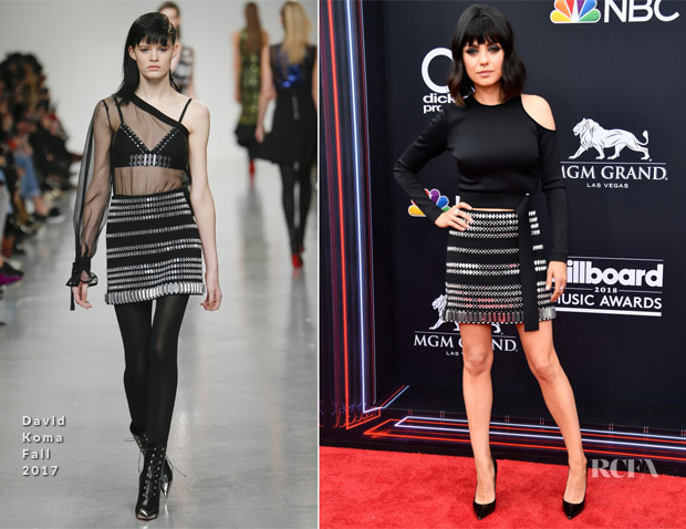 Mila Kunis In David Koma - 2018 Billboard Music Awards
